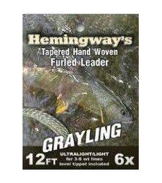 Fly fishing leader sistem Grayling