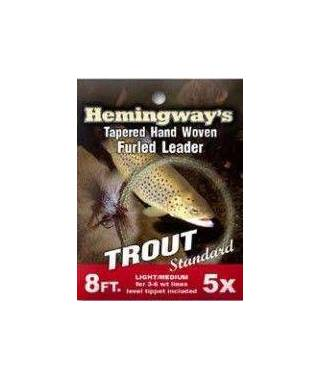 Fly fishing leader sistem Trout Standard